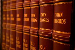 Town Record Books